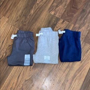 3 (2 NWT) carter's jogger pant size 12 months